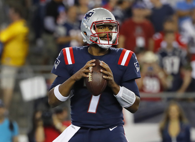 The New England Patriots and their third-string quarterback had no problem taking down the Houston Texans on Thursday night.