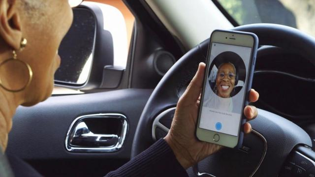 """Uber's new """"selfie"""" requirement aims to prevent account theft and fraud. Video provided by Newsy"""