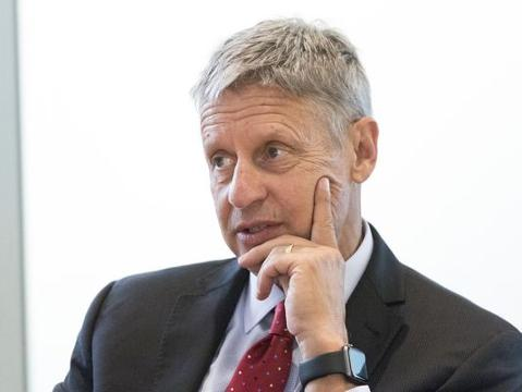 """Libertarian candidate for president Gary Johnson believes that humans aren't being shortsighted by ignoring climate change but are simplytaking the """"long-term view."""