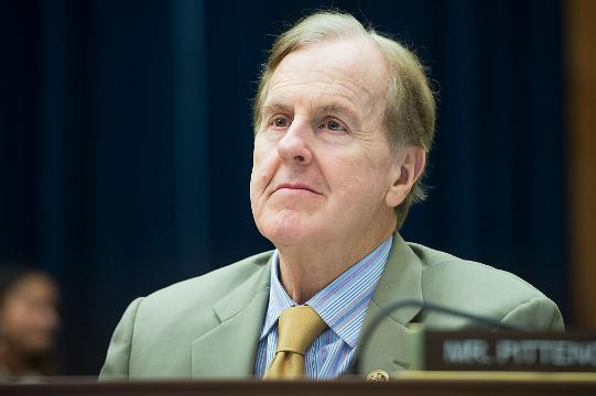"""Rep. Robert Pittenger, R-N.C., apologized on Thursday for saying that protesters in Charlotte """"hate white people, because white people are successful and they're not."""""""