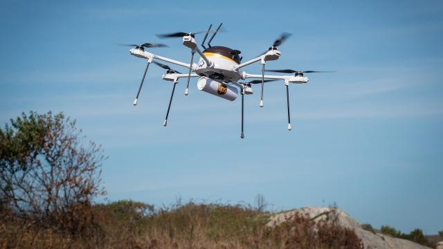 UPS said its drone successfully delivered an inhaler from Beverly, Massachusetts, to a summer camp a few miles away. Video provided by Newsy