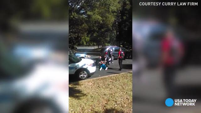 The wife of Keith Lamont Scott released video that captures the moments leading up to the fatal shotting by Charlotte police.