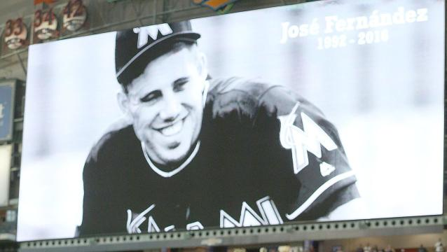 Sports world mourns Jose Fernandez