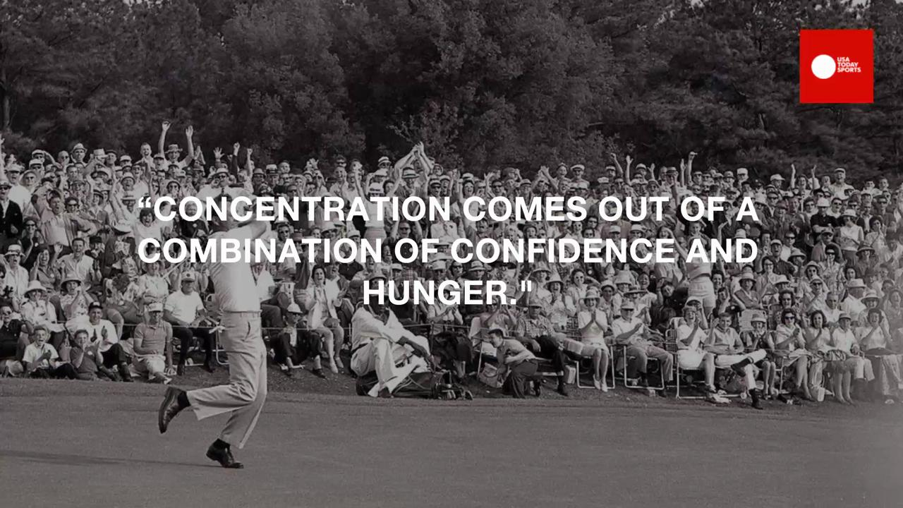 Remembering some of the golf legend's greatest phrases.