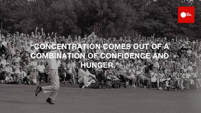 Arnold Palmer's greatest quotes
