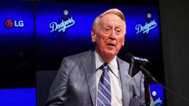 Vin Scully retires in style at Dodger Stadium