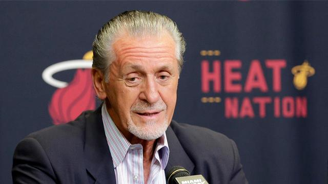 Pat Riley: Chris Bosh's 'Heat career is probably over'