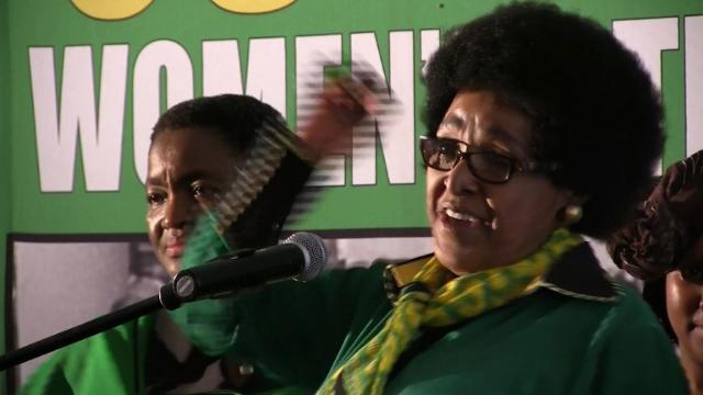 Nelson Mandela's ex-wife, Winnie Madikizela-Mandela says she is overwhelmed with emotion as she celebrates her 80th birthday.