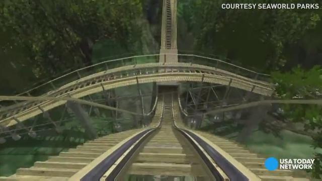 Feel the rush on InvadR at Busch Gardens Williamsburg