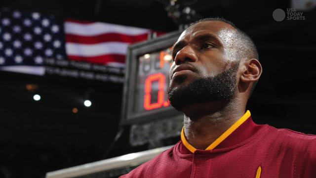 Cavaliers forward said during a media session that he agrees with Kaepernick's message.