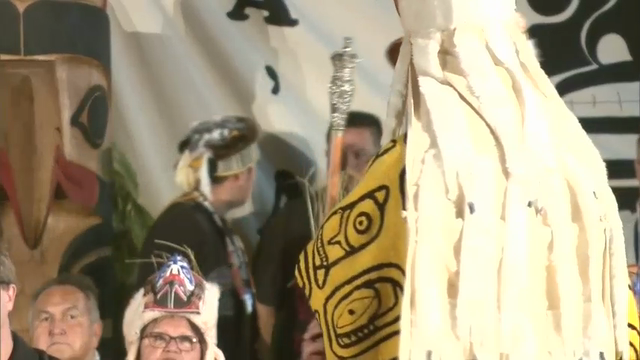 UK royals visit First Nations settlement during Canada trip