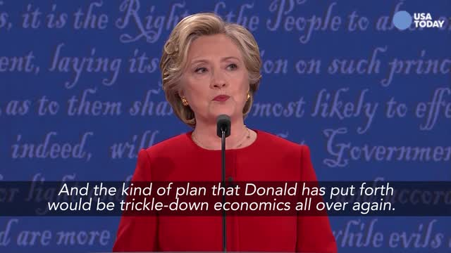 The top moments from the first presidential debate