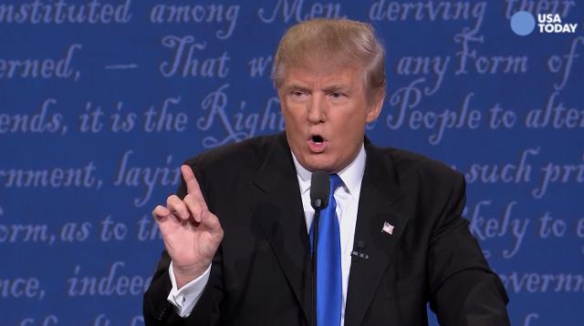Trump denies his support for the Iraq War
