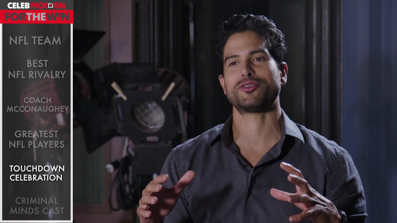 Actor Adam Rodriguez makes his picks for Week 4 of the NFL season.
