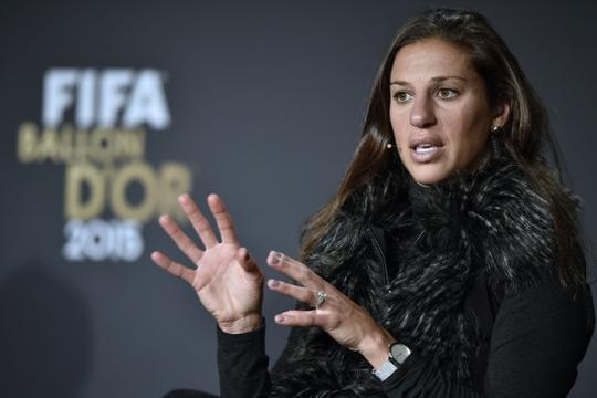 U.S. soccer star Carli Lloyd opens up on her life in autobiography