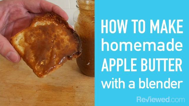How to make apple butter using a blender