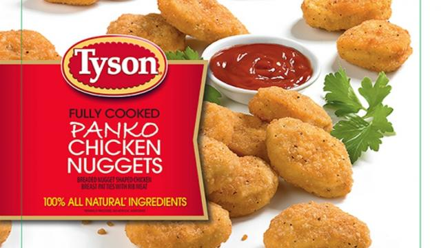 Tyson just recalled 132,000 pounds of chicken nuggets