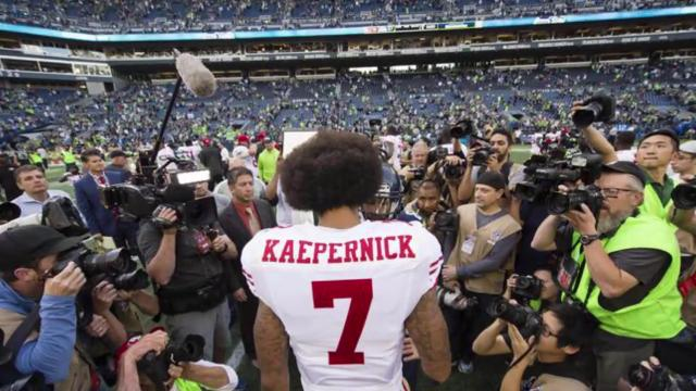 49ers quarterback watched 'a little bit' of Monday's presidential debate and wasn't impressed.