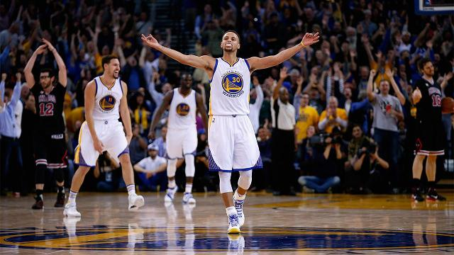 As he enters the final year of his contract, NBA MVP Stephen Curry has no intentions of leaving the Golden State Warriors, he told reporters on Tuesday.