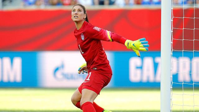 "Suspended U.S. women's national team goalkeeper Hope Solo announced that she underwent shoulder replacement surgery on Tuesday, posting pictures on social media and called it a ""long overdue"" procedure."