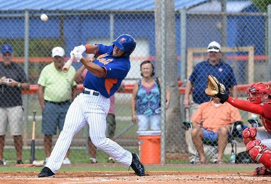 Watch: Tim Tebow homers in first professional at-bat