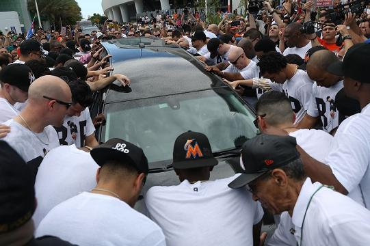 Miami says goodbye to Jose Fernandez
