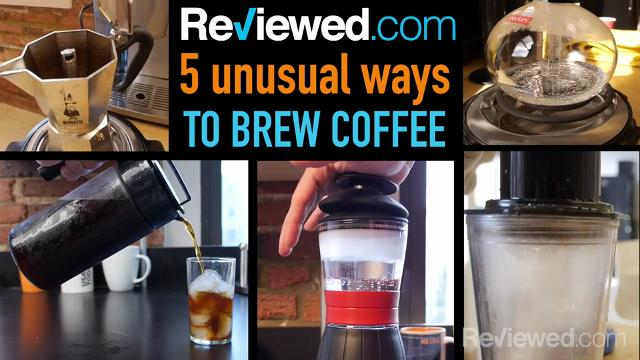 Five unusual ways to brew coffee at home