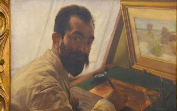 Painting resurfaces after over 100 years