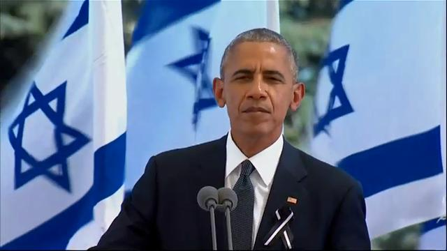 Obama: Shimon Peres 'reminded me of' Mandela