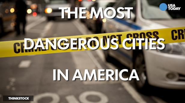 The most dangerous cities in America