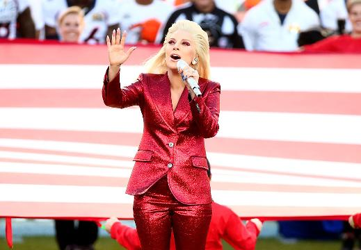 Lady Gaga will be performing at halftime.  Just check out her reaction on Instagram.