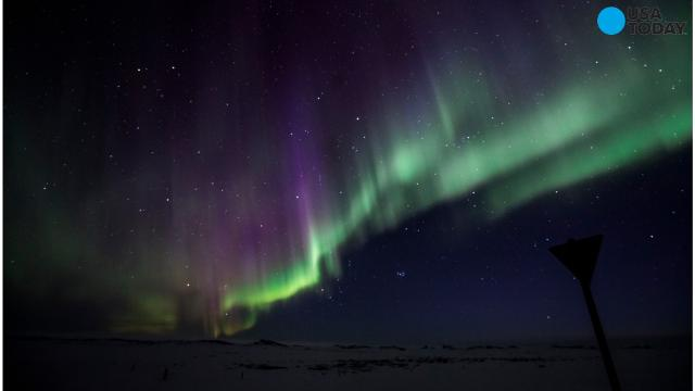 Iceland goes dark for Northern Lights