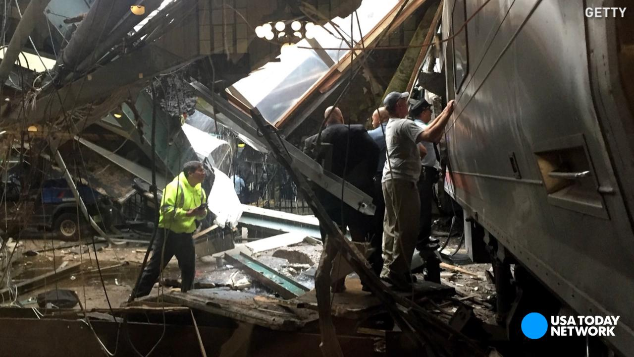 National Transportation Safety Board Vice Chair T. Bella Dinh-Zarr describes the dangers investigators face at the site of the New Jersey transit train crash in Hoboken.