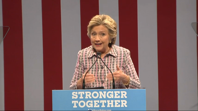 Clinton: Expand Public Service Opportunities