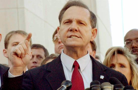 Alabama Chief Justice Roy Moore has been suspended for the rest of his term due to his refusal to follow federal rulings on same-sex marriage.