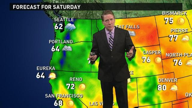 Saturday's forecast: Temperatures cool down for Fall