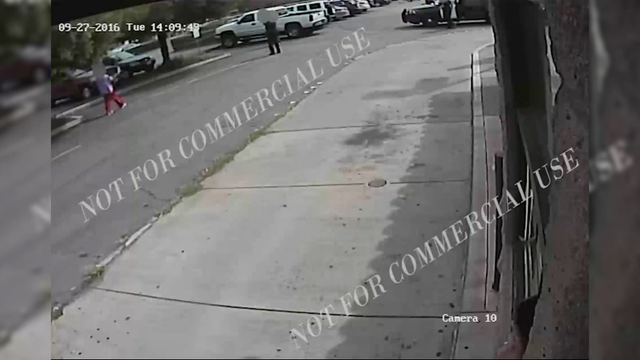 Police have released two videos showing the fatal shooting of an unarmed black man by an officer in a San Diego suburb. Warning: This video contains graphic content. (Sept. 30)