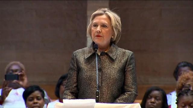 Clinton: 'My worries are not the same as black grandmothers'