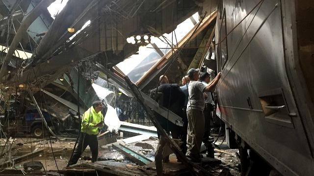 Derailed train: Driver has no memory of crash