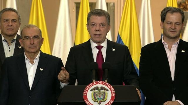Colombia's Santos, FARC scramble to revive peace after shock vote