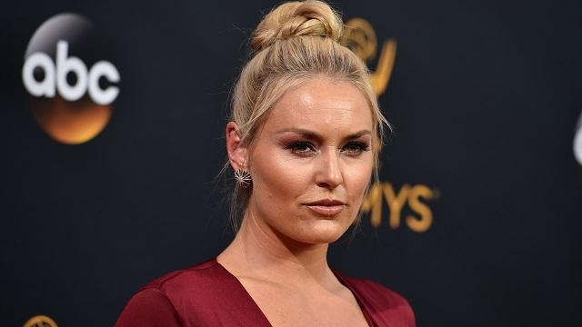 Lindsey Vonn says she has 'insecurities' about her body image. The Olympic and world champion skier made the comments while promoting her new book on NBC's 'Today' show.