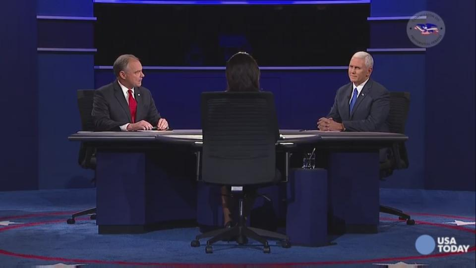 Oops! Mike Pence misnames debate location