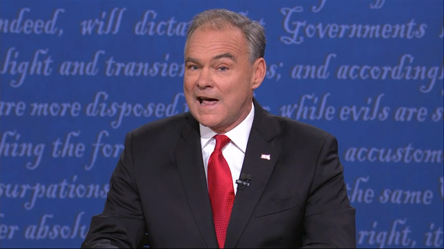 VP Debate: Pence, Kaine Tangle on Foreign Policy