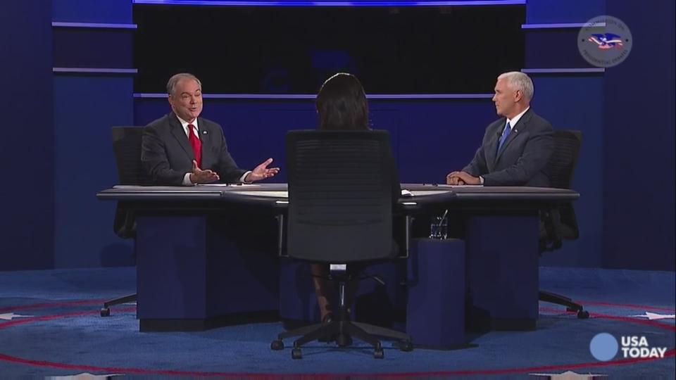 What you missed from the vice presidential debate