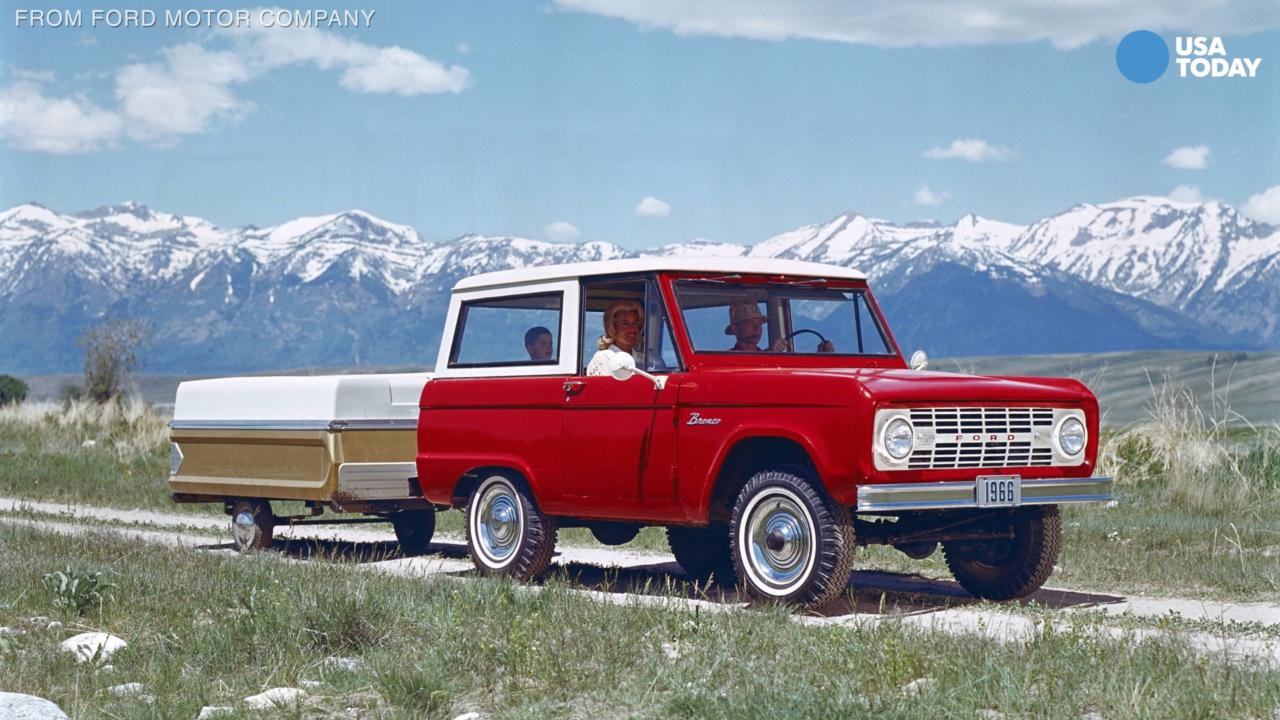 A brief history of the Ford Bronco
