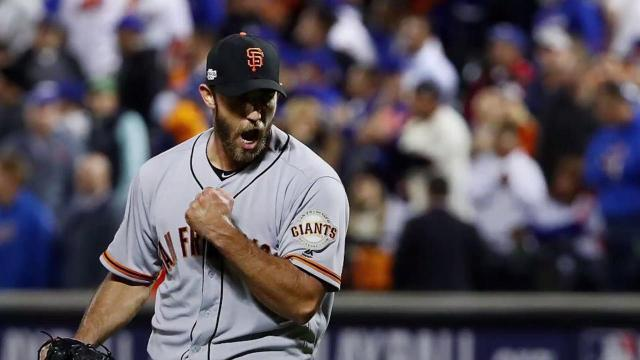 Madison Bumgarner continues postseason dominance