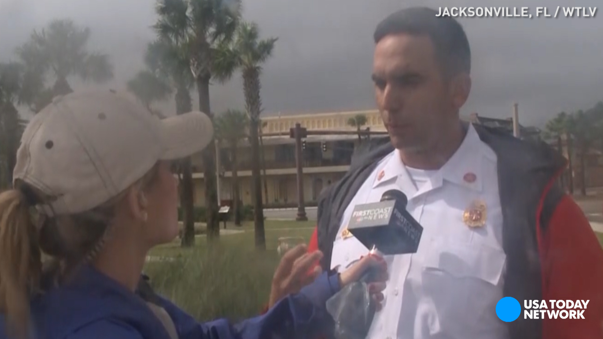 Fire chief: Matthew may be worse than Andrew, Katrina