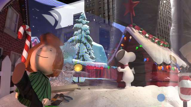 Behind the scenes at Macy's holiday windows