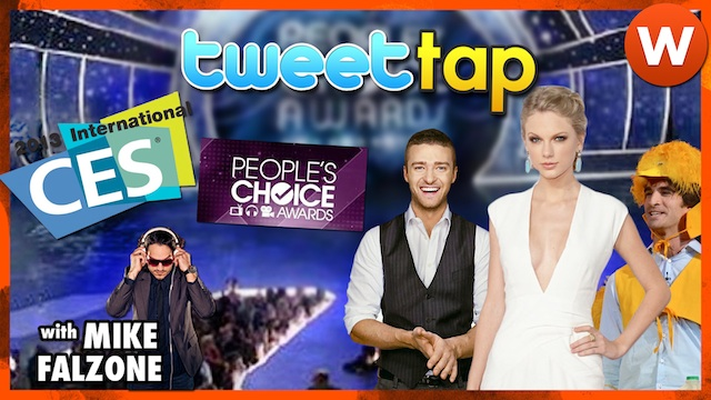 People's Choice Awards Fraction of Qualcomm's CES Excitement #TweetTap