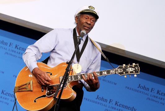 Happy birthday to Chuck Berry. The 'Father of rock 'n' roll'  is turning 90.